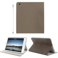 Чехол Smart-cover для Apple iPad mini 1,2,3, полиуретан, Hot Go, коричневый