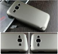 Чехол-накладка на Samsung Ace3 пластик, золотистый