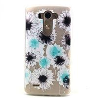 Чехол-накладка LG Optimus L70, L65 (D325,D285) силикон, flower 2