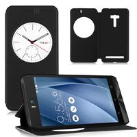 Чехол-книжка для Asus Zenfone Selfie 5.5'' (ZD551KL) полиуретан, черный