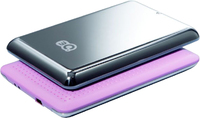 "Бокс для HDD, 2.5"", USB2.0, 3Q U245H, USB2.0-miniUSB, розовый"