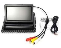 """Монитор BYNCG, 4.3"""", на подставке, 2 камеры, черный"""