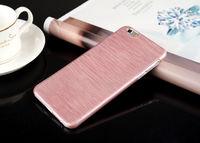 Чехол-накладка на Apple iPhone 6/6S, пластик, brush pink