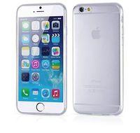 Чехол-накладка на Apple iPhone 6/6S Plus, пластик, 0,5мм, глянцевый, прозрачный