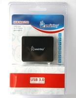 USB-хаб 3.0, Smart Buy SBHA-6000-K, 4 порта, черный