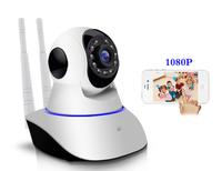 IP-камера DAIRUI, 1080p, Wi-Fi, LAN, microSD, вращение 360 гр, ночной режим, белый