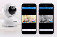 IP-камера Annke NL2, 720p, Wi-Fi, microSD, вращение 360 гр, ночной режим, белый