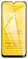 Защитное стекло Samsung Galaxy A8 Plus (2018) на дисплей, с рамкой, 4D, черный