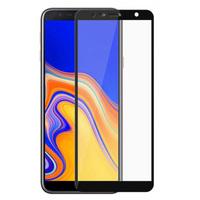 Защитное стекло Samsung Galaxy J4 Core на дисплей, с рамкой, черный
