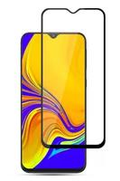 Защитное стекло для Samsung Galaxy A20 (A205) (2019) на дисплей, с рамкой, черный