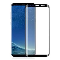 Защитное стекло для Samsung Galaxy S8 на дисплей, 4D, черный