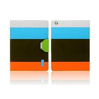 Чехол Smart-cover для Apple iPad mini 1,2,3, кожа, цветной 2