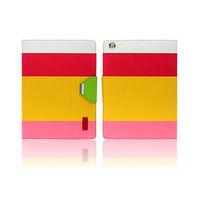 Чехол Smart-cover для Apple iPad mini 1,2,3, кожа, цветной 3