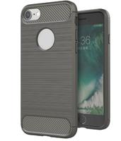 Чехол-накладка на Apple iPhone 7/8 Plus, силикон, противоударный, матовый, DREAMYSOW, серый
