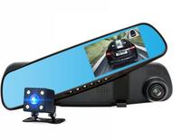 "Видеорегистратор зеркало с камерой заднего вида TDS TS-CAR10, HD, 3.6"""