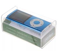 MP3-плеер с дисплеем, Perfeo Music I-Sonic, microSD, синий
