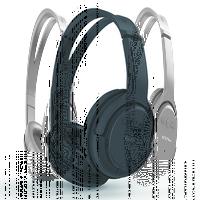 Гарнитура беспроводная, полноразмерная, EZRA BW17, Bluetooth, стерео, черный