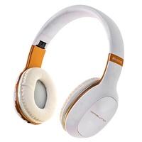 Гарнитура беспроводная, полноразмерная, Орбита OT-HP01, Bluetooth, TF, aux, fm, стерео, белый