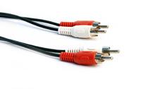 Кабель аудио 2 RCA (M) -> 2 RCA (M), Perfeo 1.5м