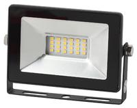 Прожектор светодиодный, ЭРА LPR-20-6500К, 20Вт, 1800Лм, 6500К, IP65, 126*87*27, черный