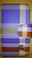 Чехол-книжка на Apple iPhone 4/4S, полиуретан, Burberry, color 4
