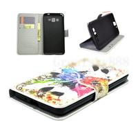 Чехол-книжка на Samsung Grand Prime (G530) полиуретан, butterfly