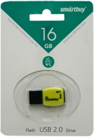 Память USB 2.0 Flash, 16GB, Smart Buy Cobra Yellow