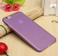 Чехол-накладка на Apple iPhone 7/8, пластик, ультратонкий, матовый, фиолетовый