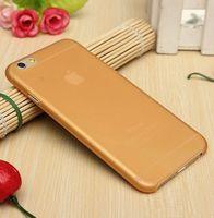 Чехол-накладка на Apple iPhone 7/8, пластик, ультратонкий, матовый, оранжевый