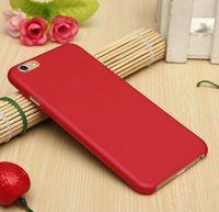 Чехол-накладка на Apple iPhone 7/8/SE2, пластик, ультратонкий, матовый, красный