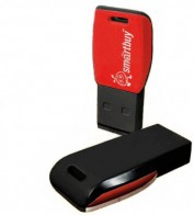 Память USB 2.0 Flash, 8GB, Smart Buy Cobra Black/Red