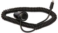Автомобильное зарядное устройство iPhone 8pin, Glossar, 1А, черный