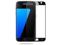 Защитное стекло Samsung Galaxy S7 на дисплей, с рамкой, черный