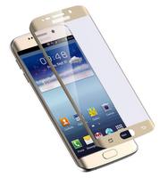 Защитное стекло для Samsung Galaxy S7 Edge на дисплей, 3D, золотистый