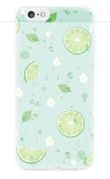 Чехол-накладка на Apple iPhone 6/6S, силикон, colorfull, lemon