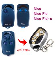 Пульт для ворот/шлагбаума, Nice Flor/s, 433Мгц, 4 канала, динамич. код, для копирования