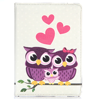 Чехол Smart-cover для Apple Ipad Air 2, полиуретан, 3 purple owl