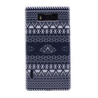 Чехол-накладка LG Optimus L7 (P700), пластик, paint 3