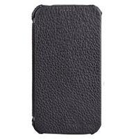 Чехол-книжка на Samsung S3 нат.кожа, черный