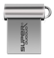 Память USB 2.0 Flash, 8GB, SuperDuoDuo, мини, серебристый