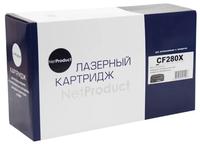 Картридж лазерный NetProduct CF280X для HP CP4525, M401a, M425, 6900стр