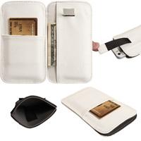 Чехол-карман на Samsung S3, кожа, белый