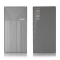 Портативный аккумулятор PowerBank 10000mAh, Remax  RPP-54 Thoway, 2хUSB, серебристый