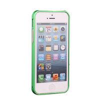 Бампер на Apple iPhone 4/4S, алюминий, зеленый