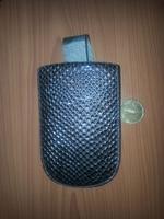 Чехол карман, кожа, 11см*7см, коричневый
