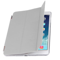 Чехол Front-case для Apple iPad mini 4, полиуретан, серый
