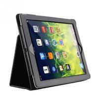 Чехол Smart-case для Apple iPad 2/3/4, кожа, черный