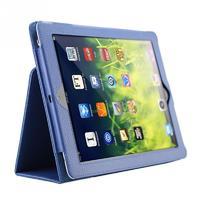 Чехол Smart-case для Apple iPad 2/3/4, кожа, синий