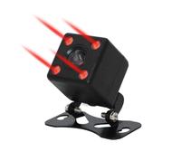Камера заднего вида Podofo, внешняя, 4 диода, с инфракр. подсветкой, черный (без кабелей)