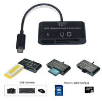 OTG konnection kit, microUSB-USB, microSD, SD